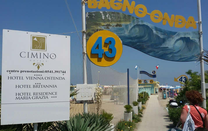 Seaside Onda 43 in Rimini