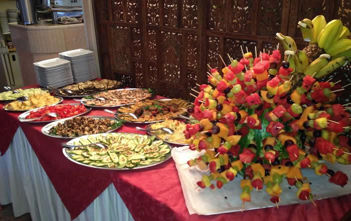 Composizione frutta e vedure
