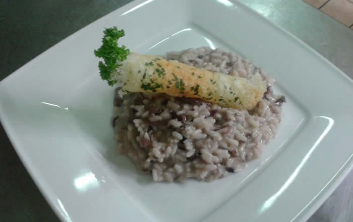 Risotto di pesce