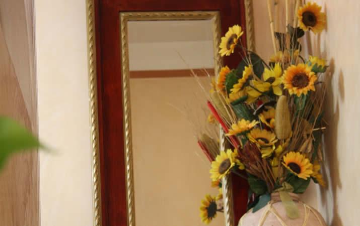 Vaso di fiori hotel